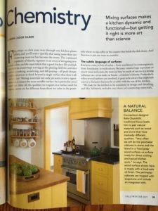 maple butcher block island in Fine Homebuilding Magazine