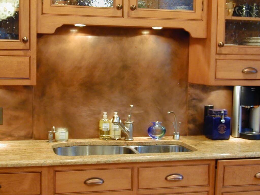 The 20 Best Ideas for Metal Kitchen Backsplash - Home ...