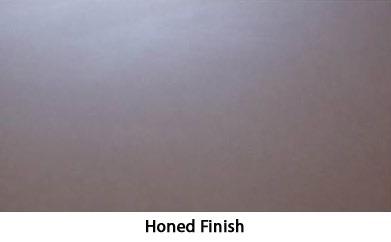 concrete finish option - honed finish