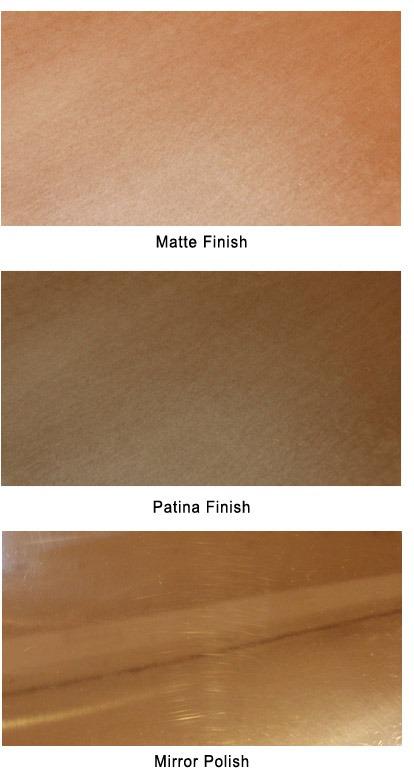 copper finish options
