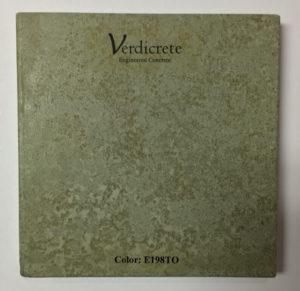 verdicrete color 198TO