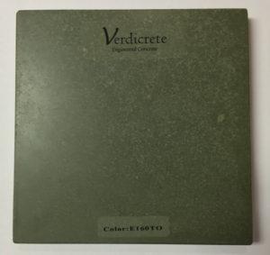 verdicrete color E160TO