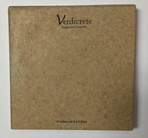 verdicrete color E217TO