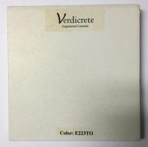 verdicrete color E223TO