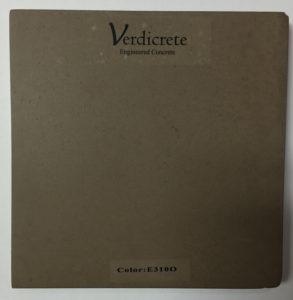 verdicrete color E310O
