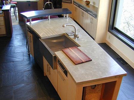 concrete countertop details image