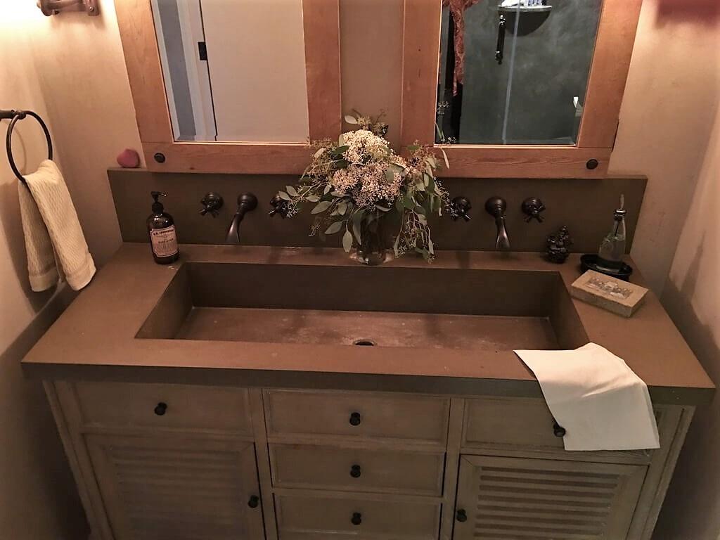Picture of: Verdicrete Concrete Sink Gallery